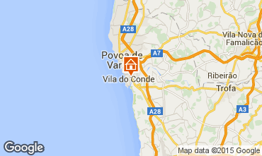 Mapa Vila do Conde Apartamento 75567