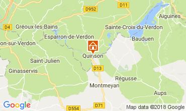 Mapa Sainte-Croix-du-Verdon Apartamento 65232
