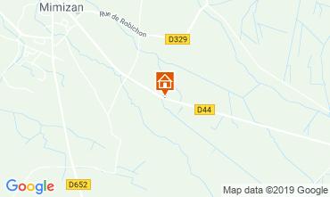 Mapa Mimizan Mobil home 117852