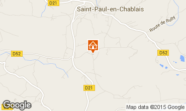 Mapa Bernex Chalet 4869