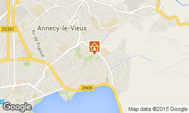 Mapa Annecy Apartamento 69833