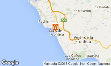 Mapa Conil de la Frontera Apartamento 94764