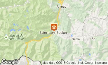 Mapa Saint Lary Soulan Apartamento 4401