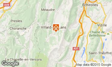 Mapa Villard de Lans - Corren�on en Vercors Apartamento 88279