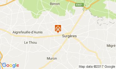 Mapa La Rochelle Casa rural 108202