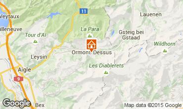 Mapa Les Diablerets Apartamento 73953