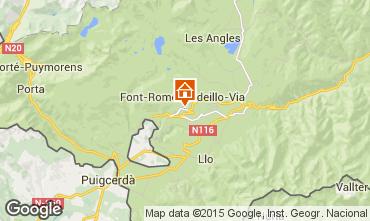 Mapa Font Romeu Apartamento 4169