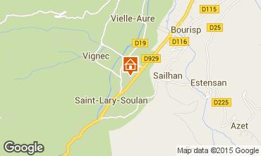 Mapa Saint Lary Soulan Apartamento 16744