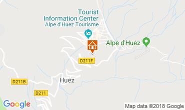 Mapa Alpe d'Huez Apartamento 101610