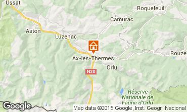 Mapa Ax Les Thermes Casa 20749