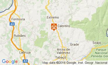 Mapa Arcos de Valdevez Casa rural 104507