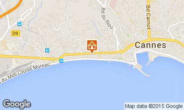 Mapa Cannes Apartamento 44413