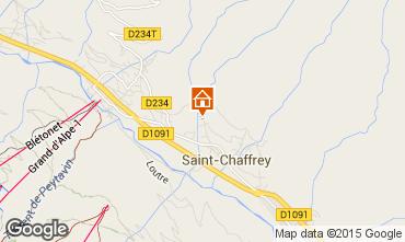 Mapa Serre Chevalier Casa rural 75303