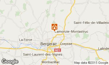 Mapa Bergerac Casa rural 97571