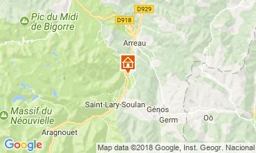 Mapa Saint Lary Soulan Apartamento 114780