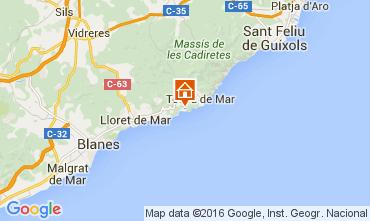 Mapa Tossa de Mar Apartamento 78298