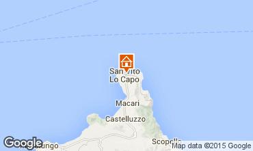 Mapa San Vito lo Capo Apartamento 83160