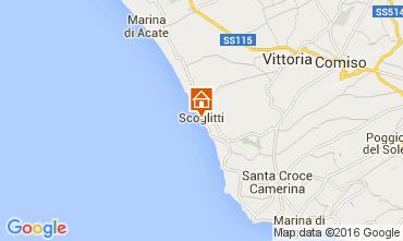 Mapa Scoglitti Apartamento 71287