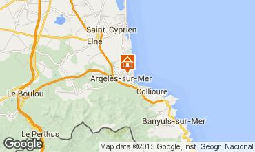 Mapa Argeles sur Mer Apartamento 69387