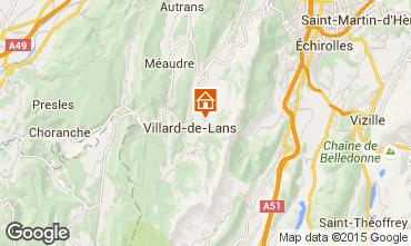 Mapa Villard de Lans - Corren�on en Vercors Chalet 3641
