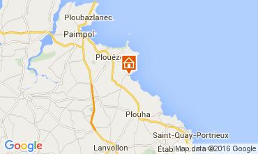 Mapa Paimpol Villa 105504