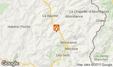 Mapa Saint Jean d'Aulps- La Grande Terche Apartamento 38397