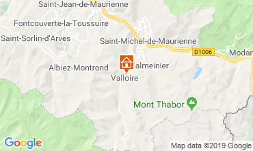 Mapa Valloire Chalet 116466