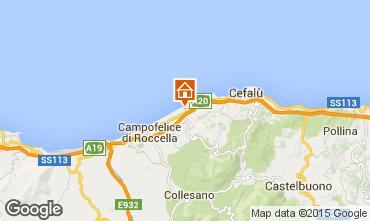Mapa Cefal� Villa 62199