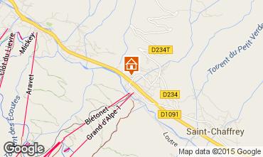 Mapa Serre Chevalier Chalet 30547