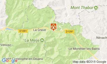 Mapa Villar-d'Arêne Chalet 113346