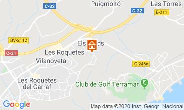 Mapa Barcelona Villa 115621