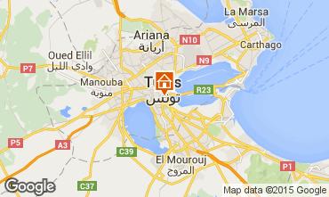 Mapa Tunis Apartamento 57216