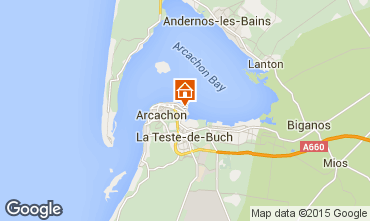 Mapa Arcachon Apartamento 81944