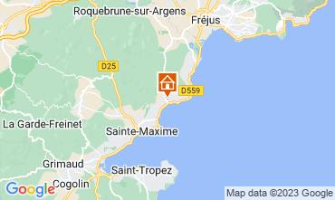 Mapa Les Issambres Apartamento 108738
