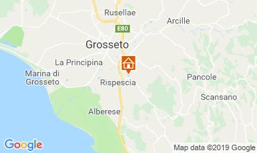Mapa Grosseto Villa 40862