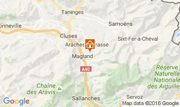 Mapa Les Carroz d'Araches Apartamento 58406