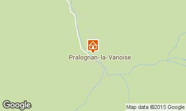 Mapa Pralognan la Vanoise Apartamento 89172