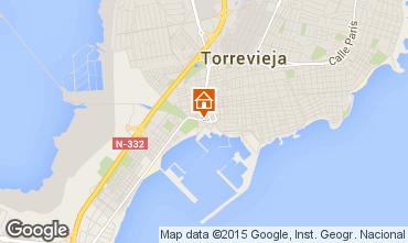 Mapa Torrevieja Apartamento 46400