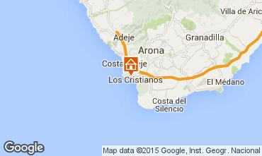 Mapa Los Cristianos Apartamento 70136