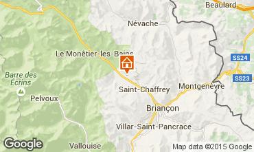 Mapa Serre Chevalier Casa 58345