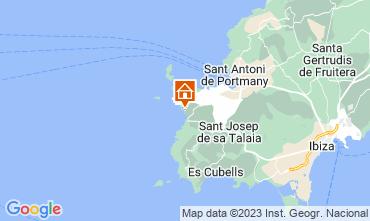 Mapa Ibiza Apartamento 15805