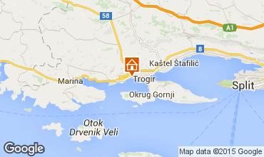 Mapa Trogir Villa 97007
