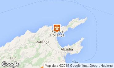 Mapa Puerto Pollensa Apartamento 69561