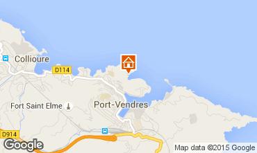 Mapa Port Vendres Apartamento 76273