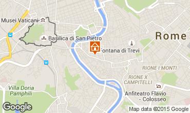 Mapa Roma Apartamento 61374