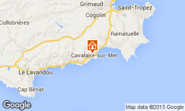 Mapa Cavalaire-sur-Mer Apartamento 76631