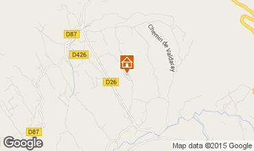 Mapa Le Castellet Villa 79364