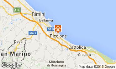 Mapa Riccione Apartamento 17943