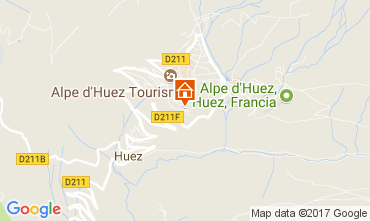 Mapa Alpe d'Huez Estudio 93111