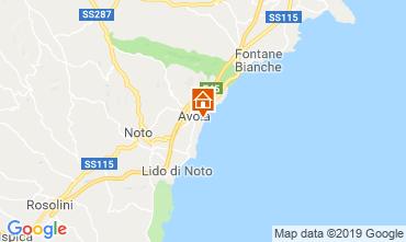 Mapa Avola Alojamiento insólito 109962